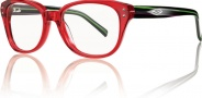 Smith Optics Devlin Eyeglasses Eyeglasses - Red Black Stripe WQH