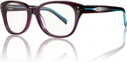 Smith Optics Devlin Eyeglasses Eyeglasses - Violet Black Stripe WQJ