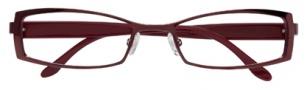 BCBGMaxazria Ambrosia Eyeglasses Eyeglasses - BUR Burgundy