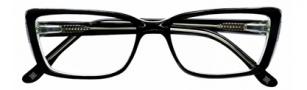 BCBGMaxazria Anastasia Eyeglasses Eyeglasses - BLA Black Laminate