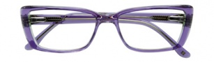 BCBGMaxazria Anastasia Eyeglasses Eyeglasses - PUR Purple