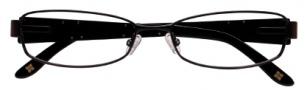 BCBGMaxazria Antonia Eyeglasses Eyeglasses - BLA Black