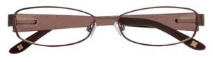 BCBGMaxazria Antonia Eyeglasses Eyeglasses - BRO Brown