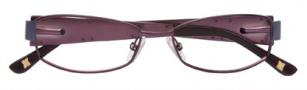 BCBGMaxazria Antonia Eyeglasses Eyeglasses - EGG Eggplant