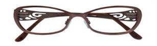 BCBGMaxazria Aubrey Eyeglasses Eyeglasses - BRO Brown
