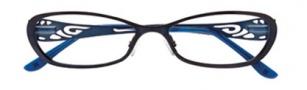BCBGMaxazria Aubrey Eyeglasses Eyeglasses - INK Ink