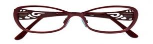 BCBGMaxazria Aubrey Eyeglasses Eyeglasses - WIN Wine