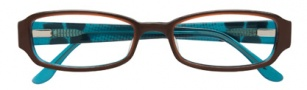 BCBGMaxazria Bree Eyeglasses Eyeglasses - BRO Brown Laminate