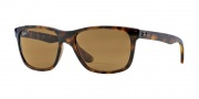 Ray Ban RB4181 Sunglasses  Sunglasses - 710/83 Light Havana / Polarized Brown