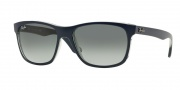 Ray Ban RB4181 Sunglasses  Sunglasses - 613671 Top Matte Blue / Gradient Grey