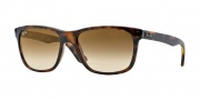 Ray Ban RB4181 Sunglasses  Sunglasses - 710/51 Light Havana / Crystal Brown Gradient
