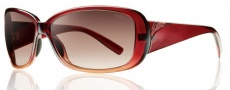 Smith Optics Shorewood Sunglasses Sunglasses - Red Scarlet Fade / Sienna Gradient