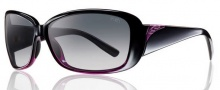 Smith Optics Shorewood Sunglasses Sunglasses - Black Violet Split / Polarized Gray Gradient