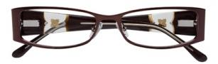 BCBGMaxazria Carmen Eyeglasses Eyeglasses - BRO Brown