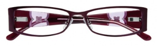 BCBGMaxazria Carmen Eyeglasses Eyeglasses - WIN Wine