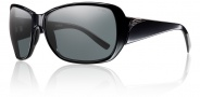 Smith Optics Hemline Sunglasses Sunglasses - Black / Polarized Gray
