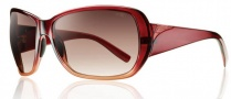 Smith Optics Hemline Sunglasses Sunglasses - Red Scarlet Fade / Sienna Gradient