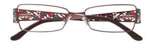 BCBGMaxazria Carolina Eyeglasses Eyeglasses - BRO Brown