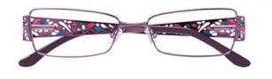 BCBGMaxazria Carolina Eyeglasses Eyeglasses - PLU Plum