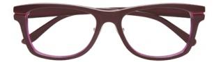 BCBGMaxazria Charlene Eyeglasses Eyeglasses - EGG Eggplant Laminate