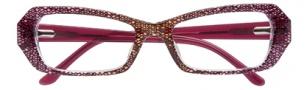 BCBGMaxazria Delanie Eyeglasses Eyeglasses - BER Berry