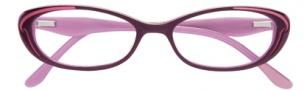 BCBGMaxazria Devyn Eyeglasses Eyeglasses - PLU Plum Laminate