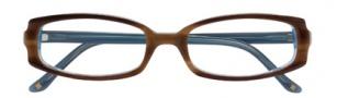 BCBGMaxazria Domenica Eyeglasses Eyeglasses - BRO Brown Horn Laminate