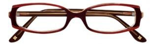 BCBGMaxazria Domenica Eyeglasses Eyeglasses - BUR Burgundy Laminate