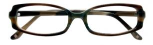 BCBGMaxazria Domenica Eyeglasses Eyeglasses - OLI Olive Grey Laminate