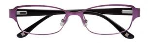 BCBGMaxazria Eden Eyeglasses Eyeglasses - EGG Eggplant