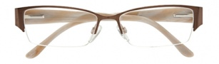 BCBGMaxazria Felicity Eyeglasses Eyeglasses - BRO Brown