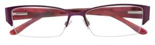 BCBGMaxazria Felicity Eyeglasses Eyeglasses - EGG Eggplant