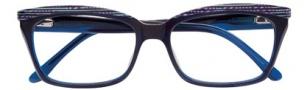 BCBGMaxazria Georgina Eyeglasses Eyeglasses - BLU Blue Laminate
