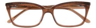 BCBGMaxazria Georgina Eyeglasses Eyeglasses - BRO Brown Laminate