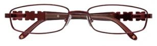 BCBGMaxazria Gianna Eyeglasses Eyeglasses - AUB Aubergine