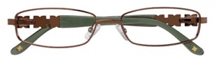 BCBGMaxazria Gianna Eyeglasses Eyeglasses - BRO Brown