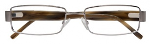 BCBGMaxazria Gino Eyeglasses Eyeglasses - GUN Gunmetal
