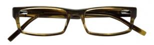 BCBGMaxazria Holden Eyeglasses Eyeglasses - OLI Olive Horn