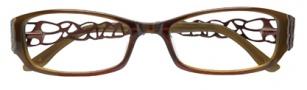 BCBGMaxazria Julissa Eyeglasses Eyeglasses - BRO Brown Fade