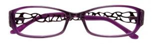 BCBGMaxazria Julissa Eyeglasses Eyeglasses - PLU Plum Fade