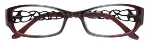 BCBGMaxazria Julissa Eyeglasses Eyeglasses - SMO Smoke Fade