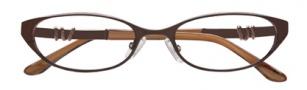 BCBGMaxazria Kennedy Eyeglasses Eyeglasses - BRO Brown