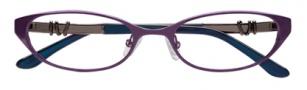 BCBGMaxazria Kennedy Eyeglasses Eyeglasses - EGG Eggplant