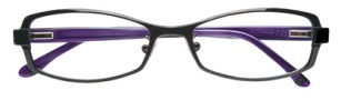 BCBGMaxazria Lillian Eyeglasses Eyeglasses - BLA Black