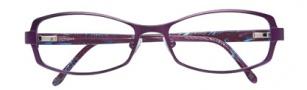BCBGMaxazria Lillian Eyeglasses Eyeglasses - EGG Eggplant