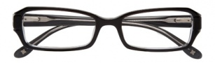 BCBGMaxazria Luciana Eyeglasses Eyeglasses - BLA Black Laminate