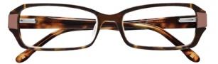 BCBGMaxazria Luciana Eyeglasses Eyeglasses - TOR Tortoise