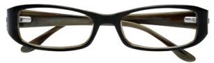 BCBGMaxazria Lucy Eyeglasses Eyeglasses - BLA Black Horn