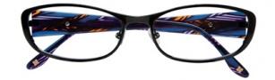 BCBGMaxazria Mae Eyeglasses Eyeglasses - BLA Black