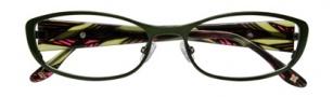 BCBGMaxazria Mae Eyeglasses Eyeglasses - OLI Olive